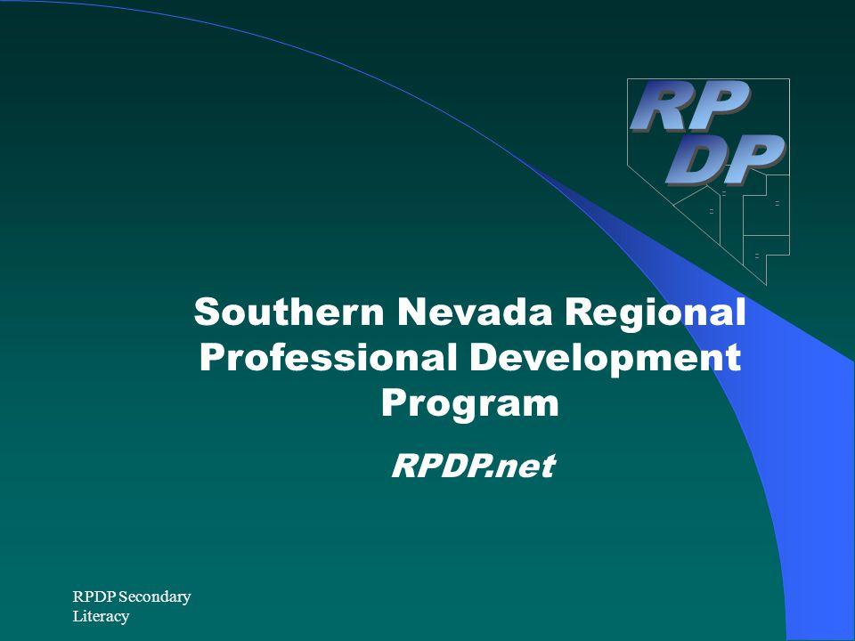 Southern Nevada Regional Professional Development Program