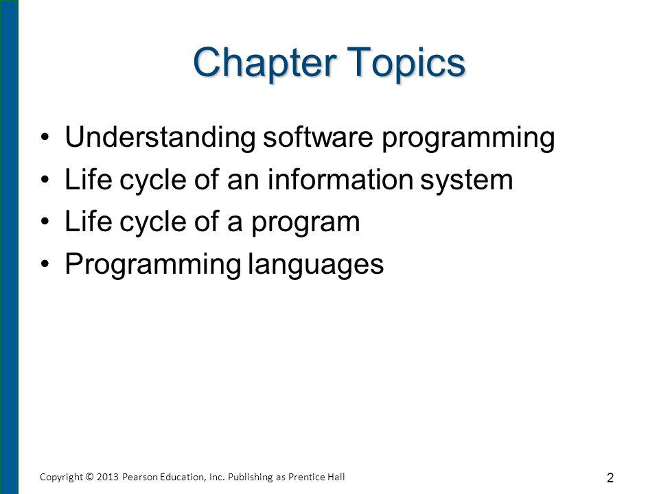 Understanding Software Programming