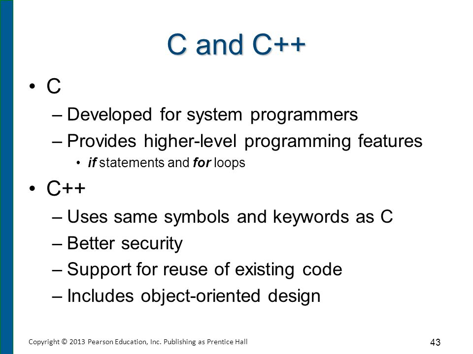 Java and C# Java C# Object-oriented features