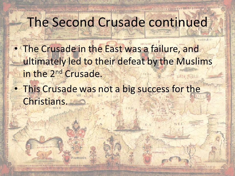 The Second Crusade continued