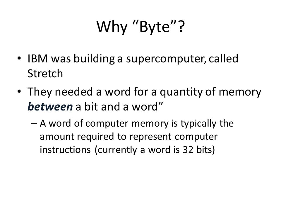Why Byte IBM was building a supercomputer, called Stretch