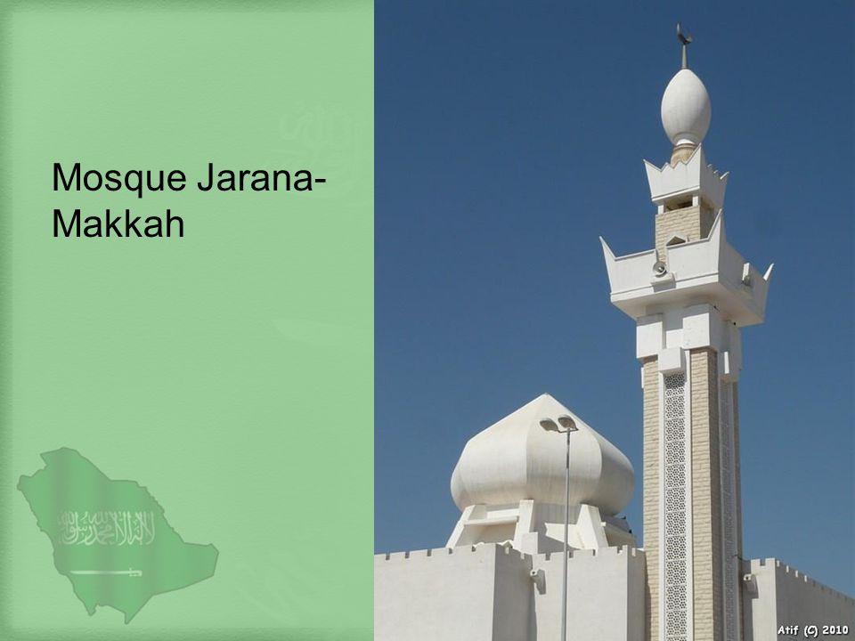 Mosque Jarana-Makkah