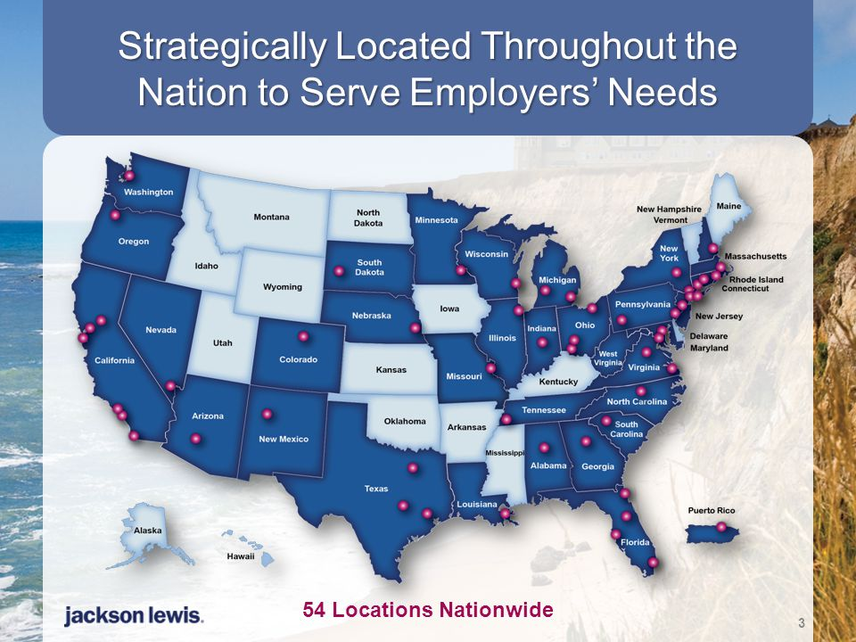 Strategically Located Throughout the Nation to Serve Employers' Needs