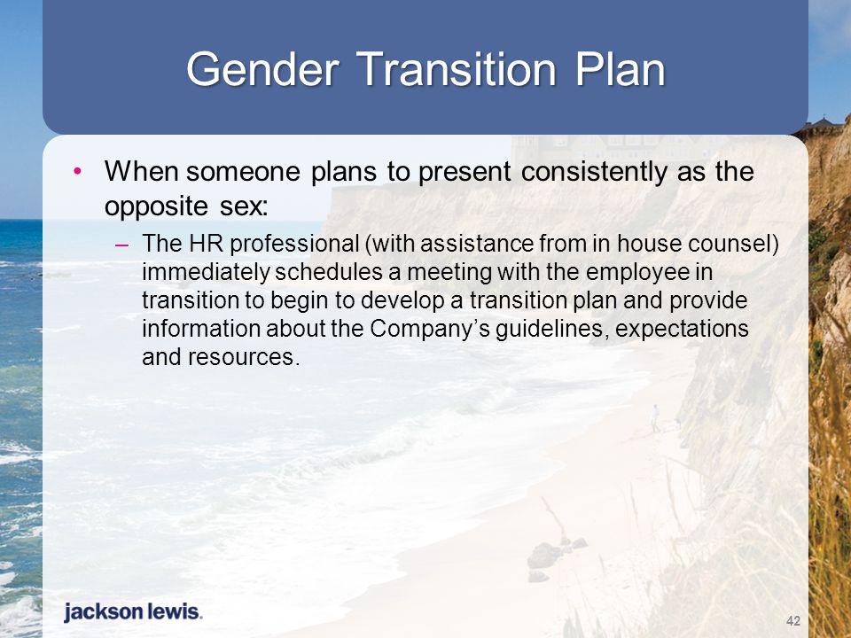 Gender Transition Plan