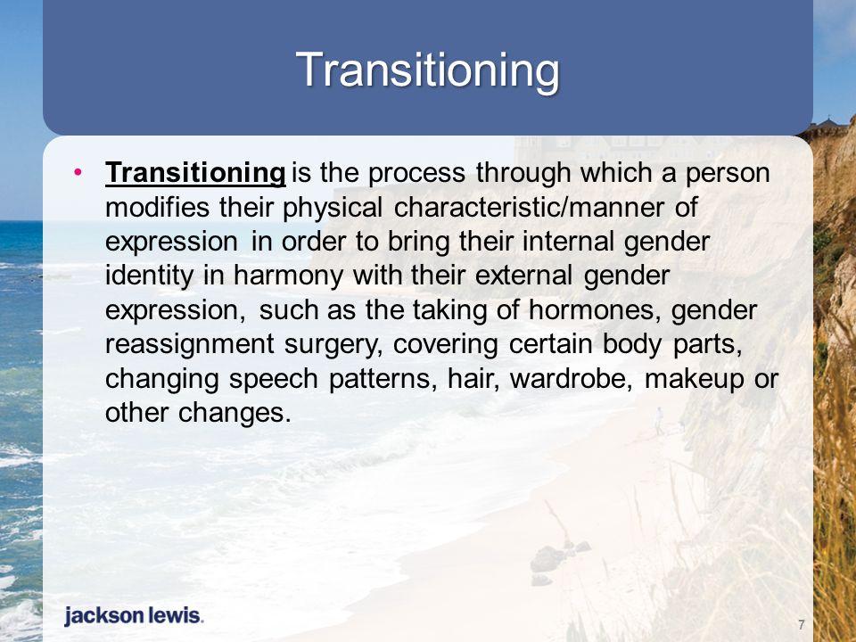 Transitioning