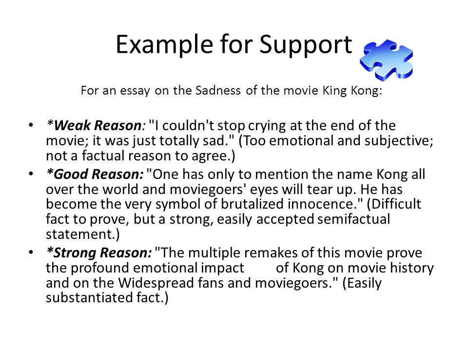 how to write an essay on movies