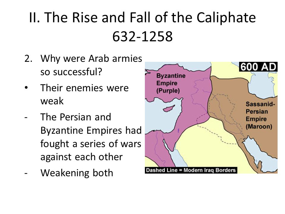 II. The Rise and Fall of the Caliphate 632-1258