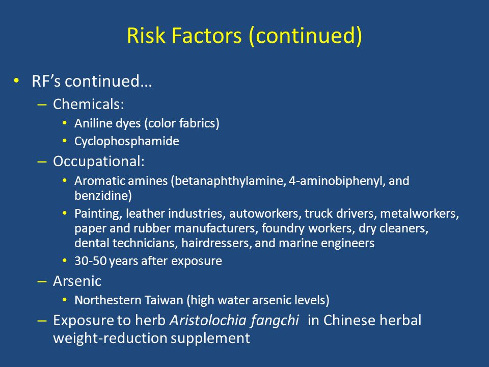 Risk Factors (continued)