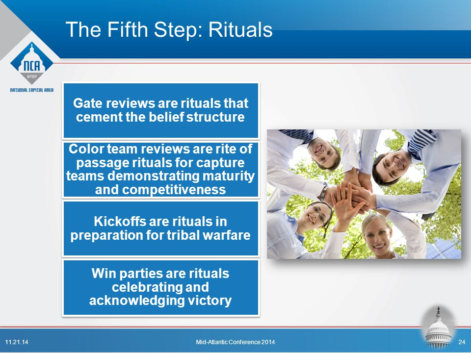 The Fifth Step: Rituals
