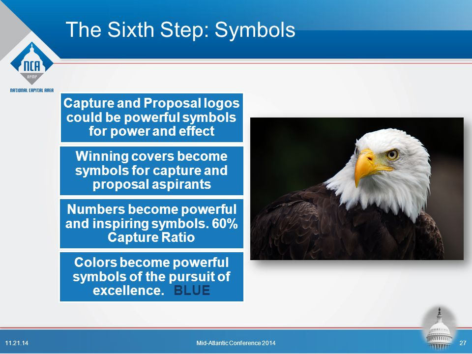 The Sixth Step: Symbols