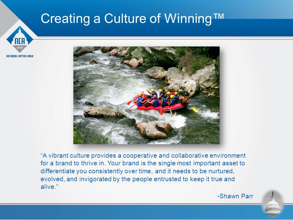 Creating a Culture of Winning™