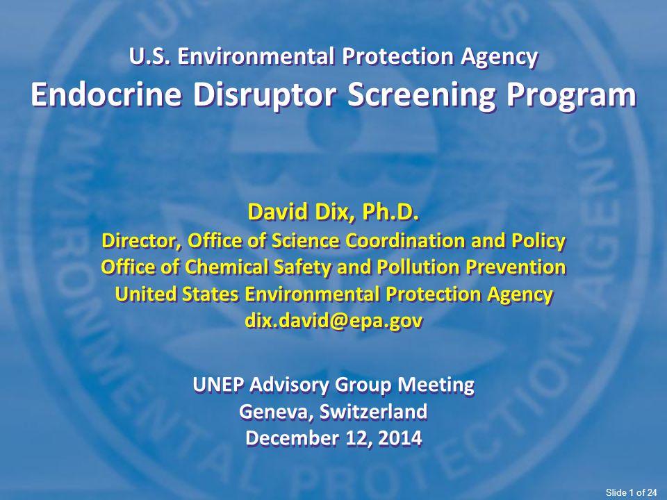 UNEP Advisory Group Meeting Geneva, Switzerland December 12, 2014