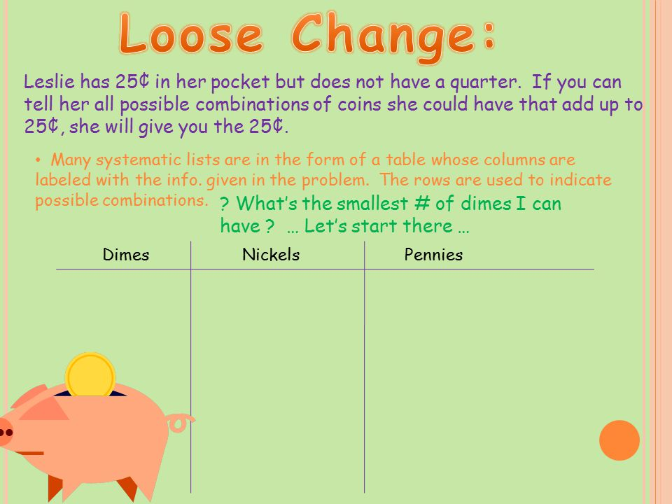 Loose Change: