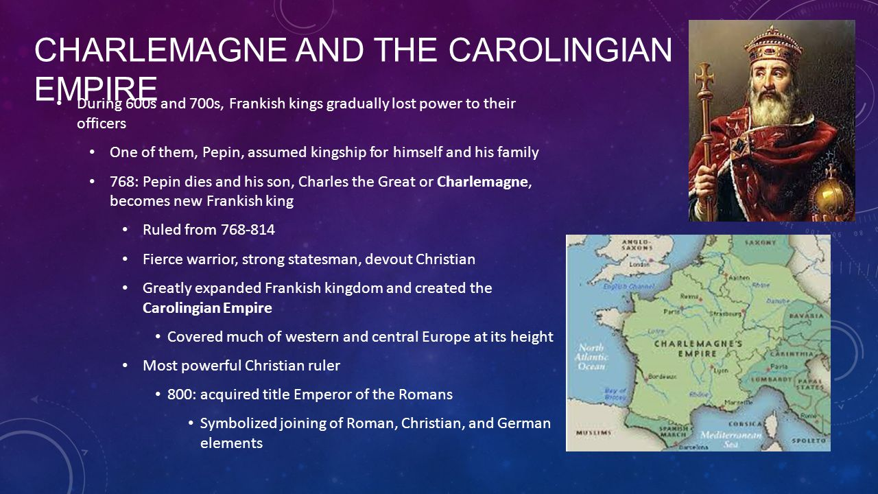 Charlemagne and the Carolingian Empire