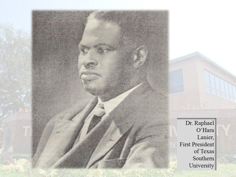 Dr. Raphael O'Hara Lanier,