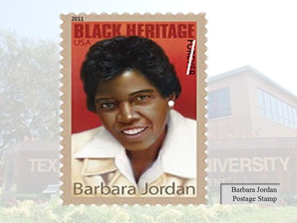 Barbara Jordan Postage Stamp