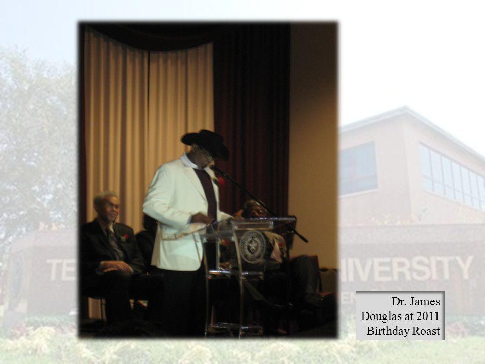 Dr. James Douglas at 2011 Birthday Roast