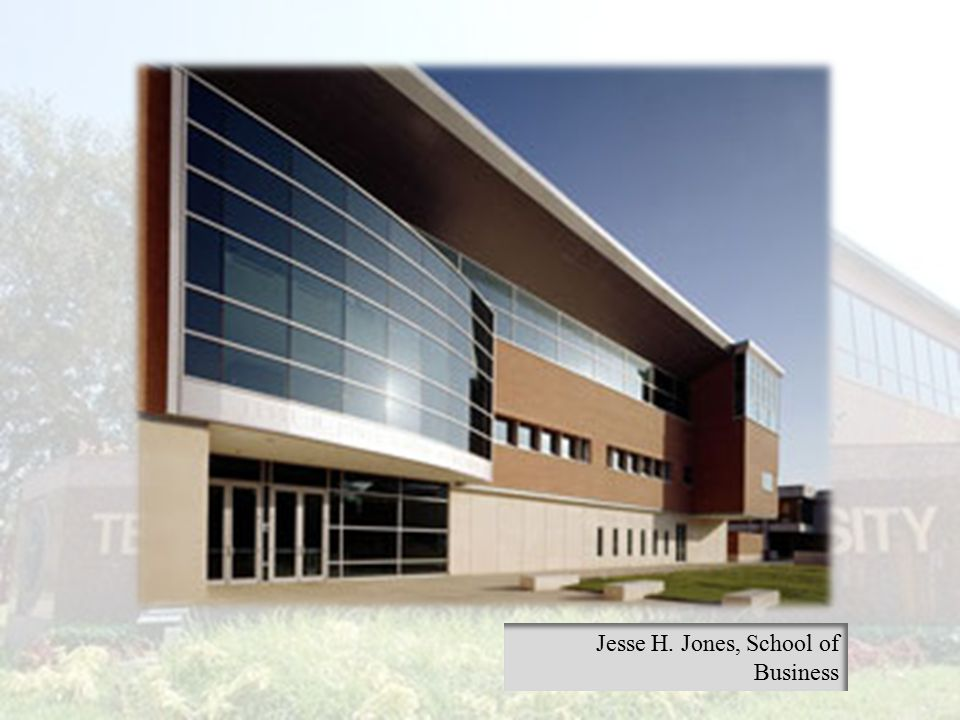Jesse H. Jones, School of Business