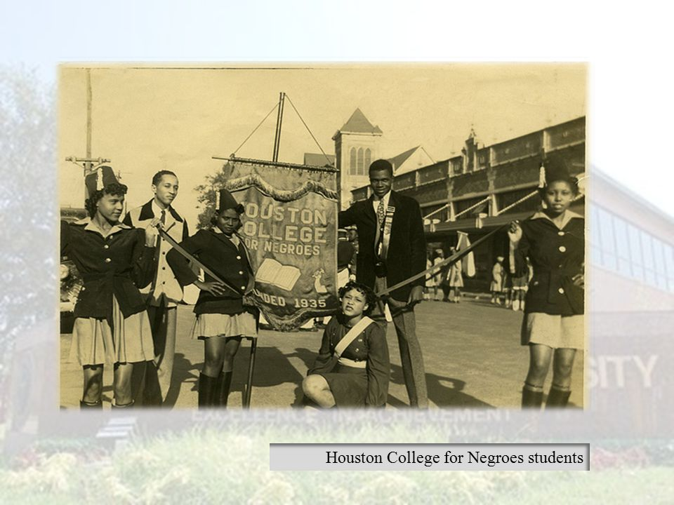 Houston College for Negroes students