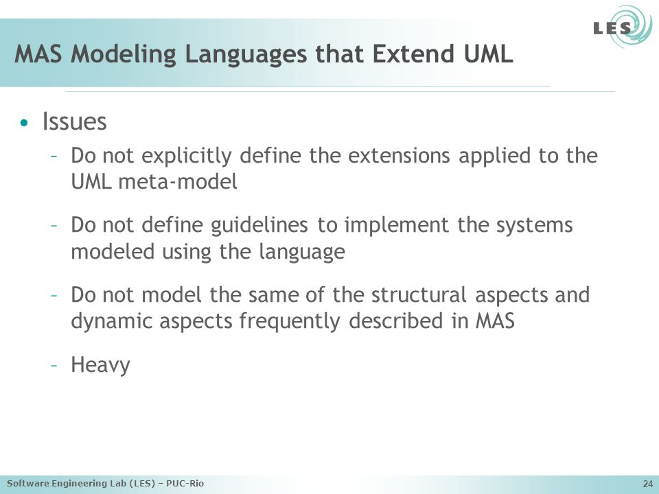 MAS Modeling Languages that Extend UML