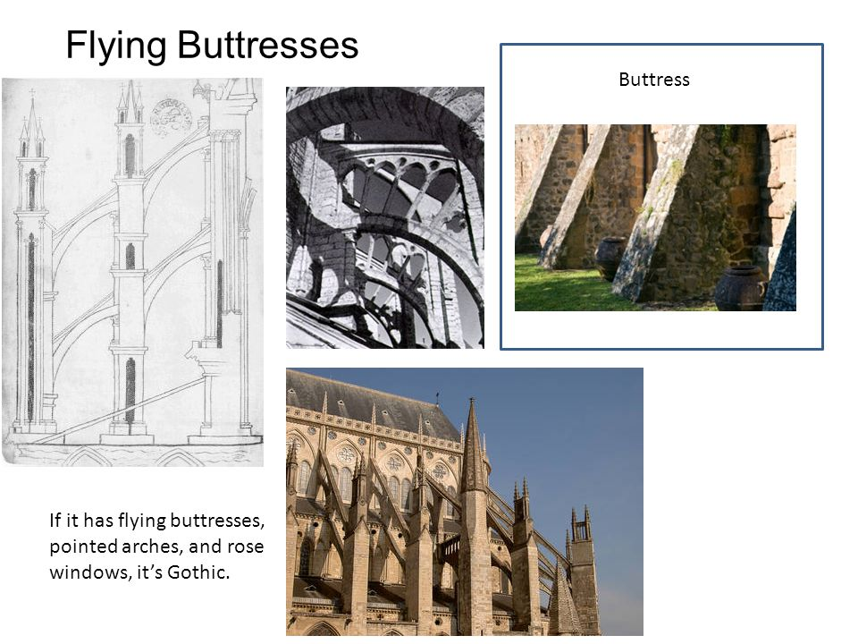 Flying Buttresses Buttress