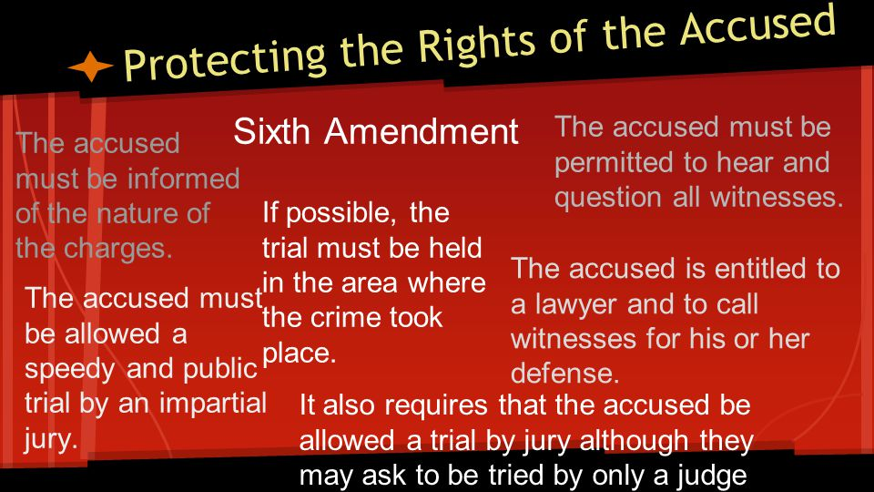 Table-5th & 6th Amendments