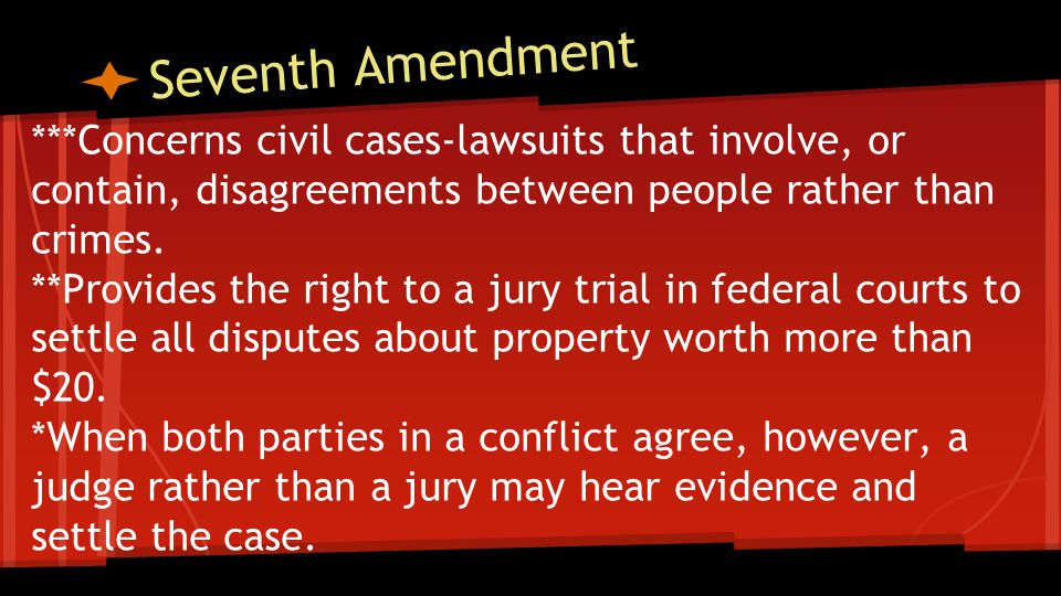 Ninth Amendment States that all other rights not spelled out in the Constitution are retained by the people.