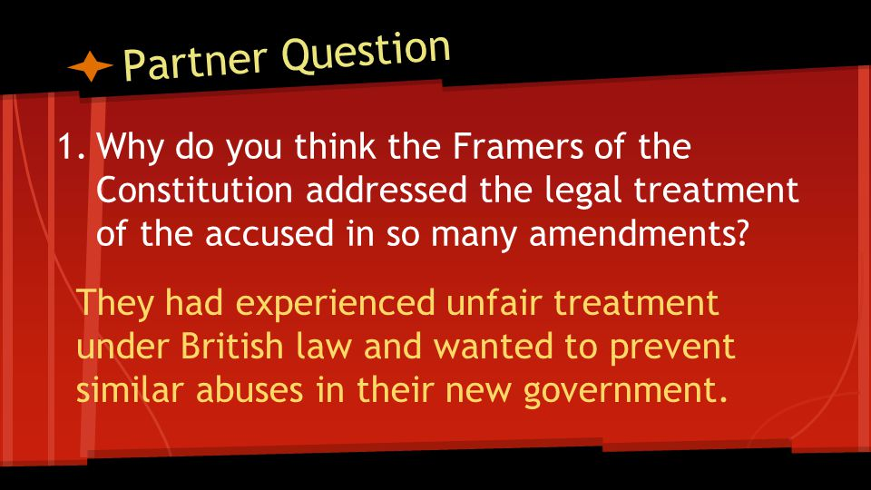 Partner Question How do the Ninth and Tenth Amendments limit the power of government