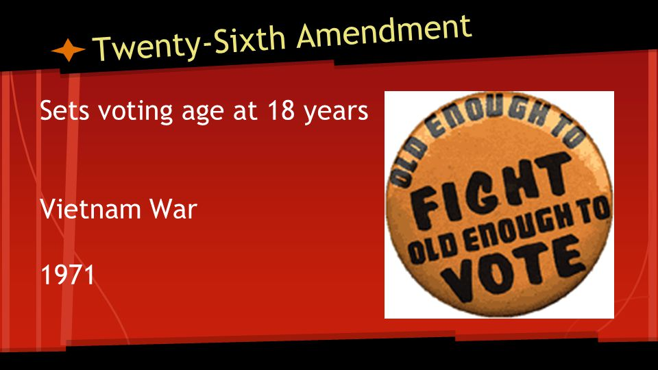 Twenty-seventh Amendment