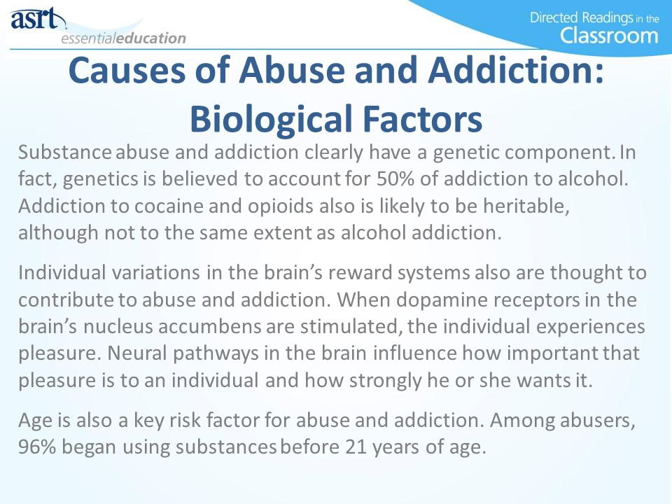 Causes of Alcohol Abuse