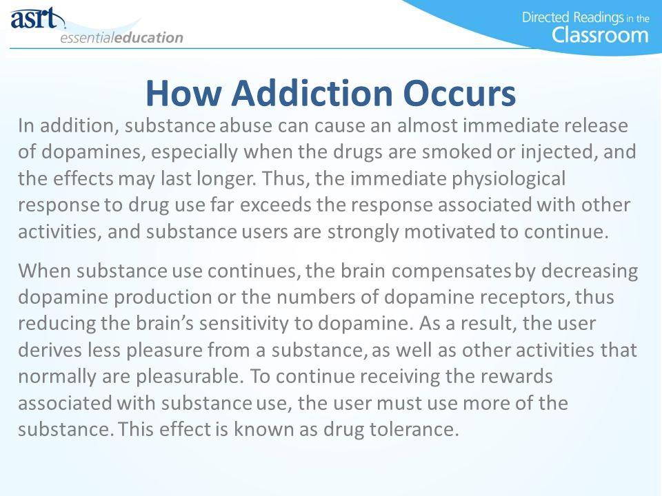 How Addiction Occurs