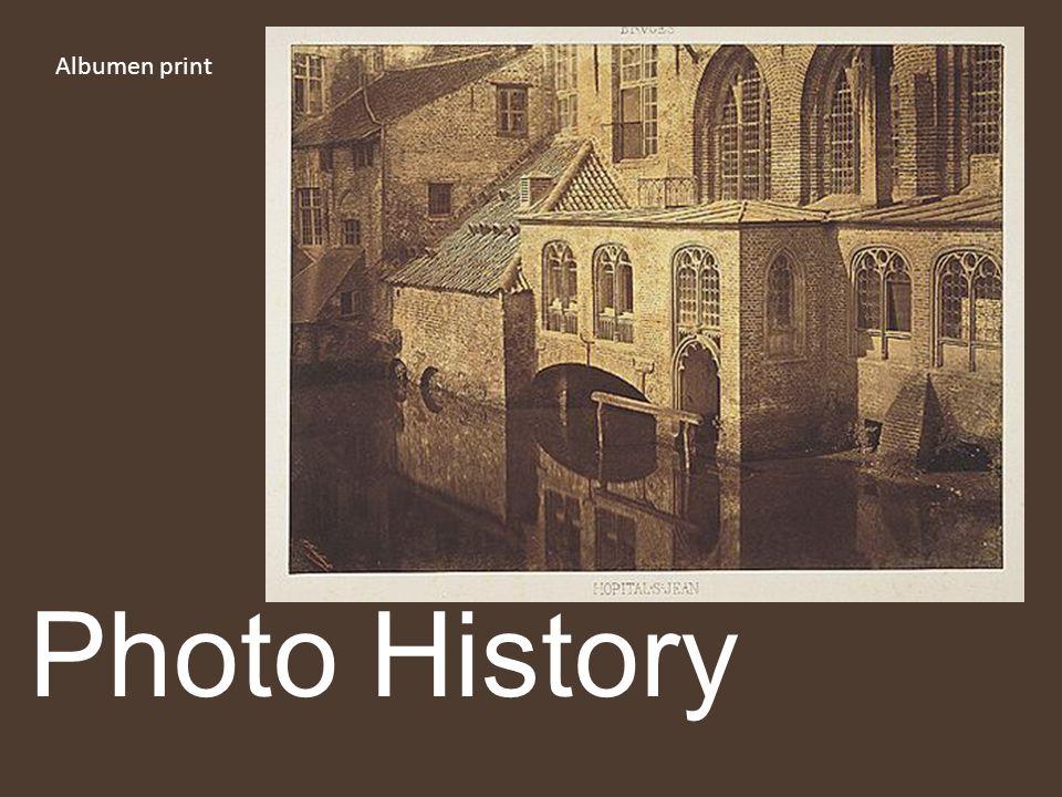 Albumen print Photo History