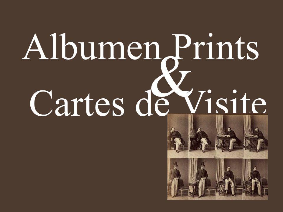 Albumen Prints & Cartes de Visite