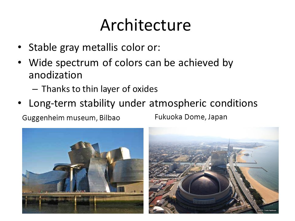 Architecture Stable gray metallis color or: