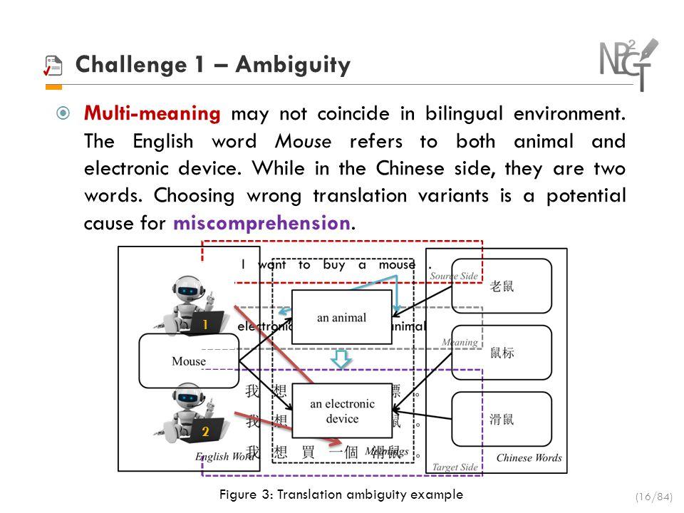 Challenge 1 – Ambiguity