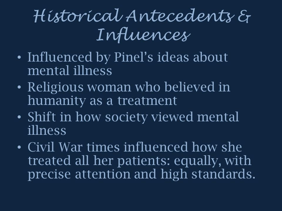 Historical Antecedents & Influences