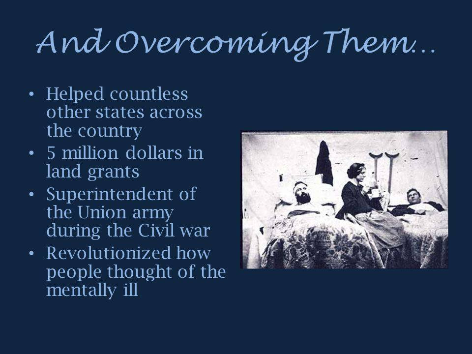 And Overcoming Them… Helped countless other states across the country