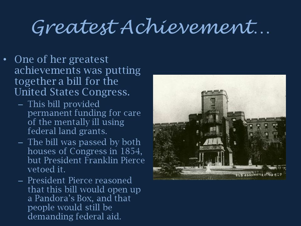 Greatest Achievement…