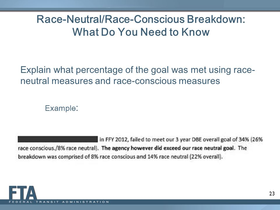 Race-Neutral/Race-Conscious Breakdown: What Do You Need to Know
