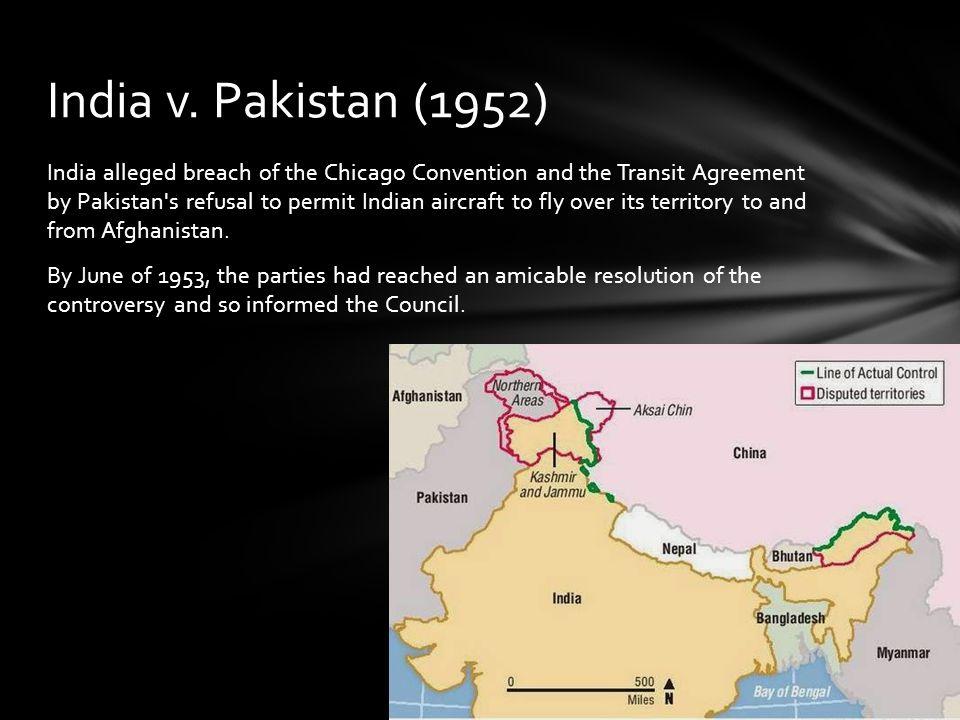 India v. Pakistan (1952)