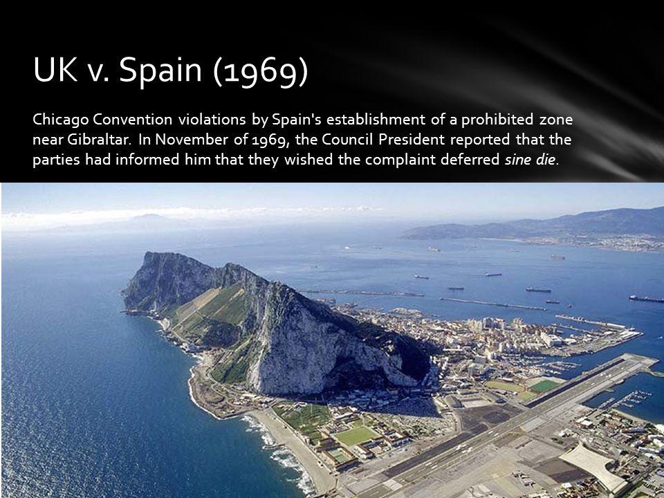 UK v. Spain (1969)