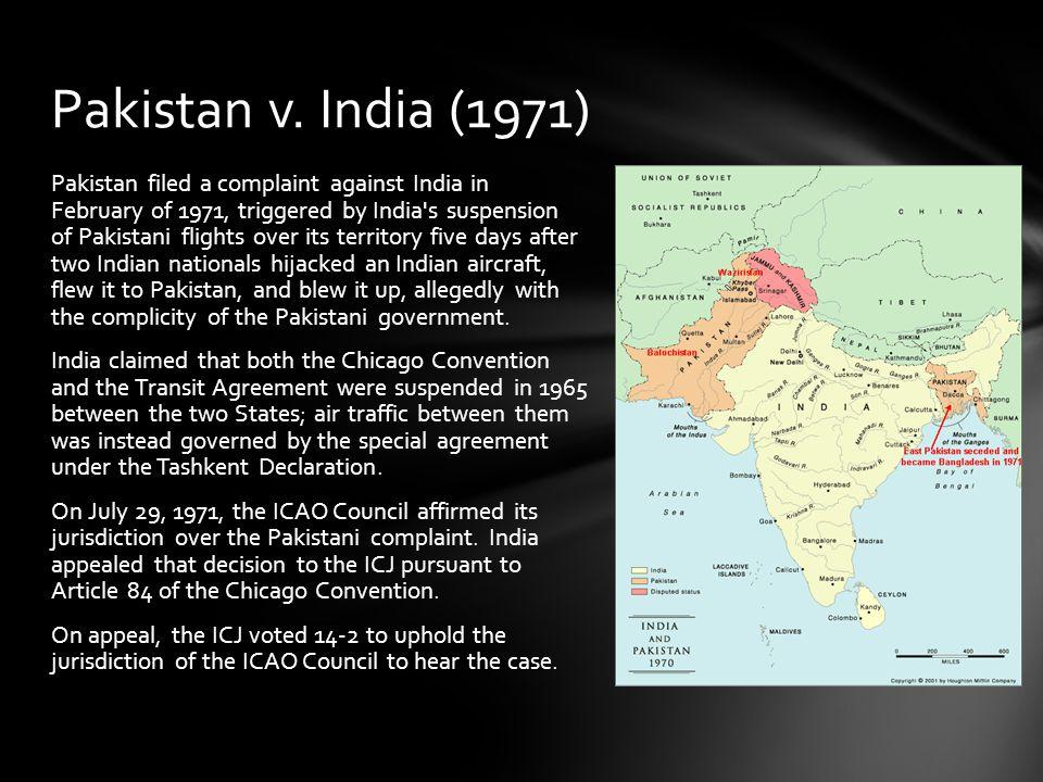Pakistan v. India (1971)