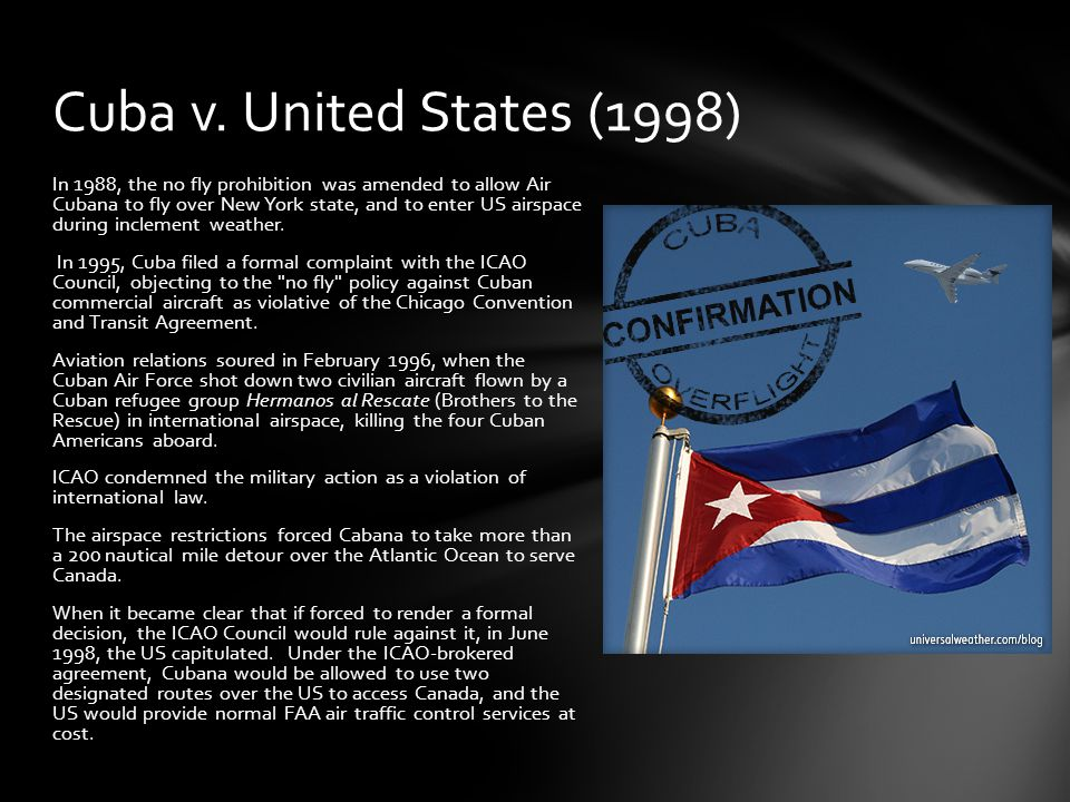 Cuba v. United States (1998)