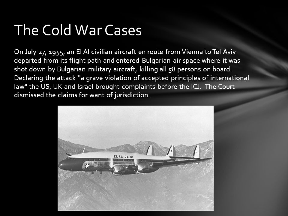 The Cold War Cases