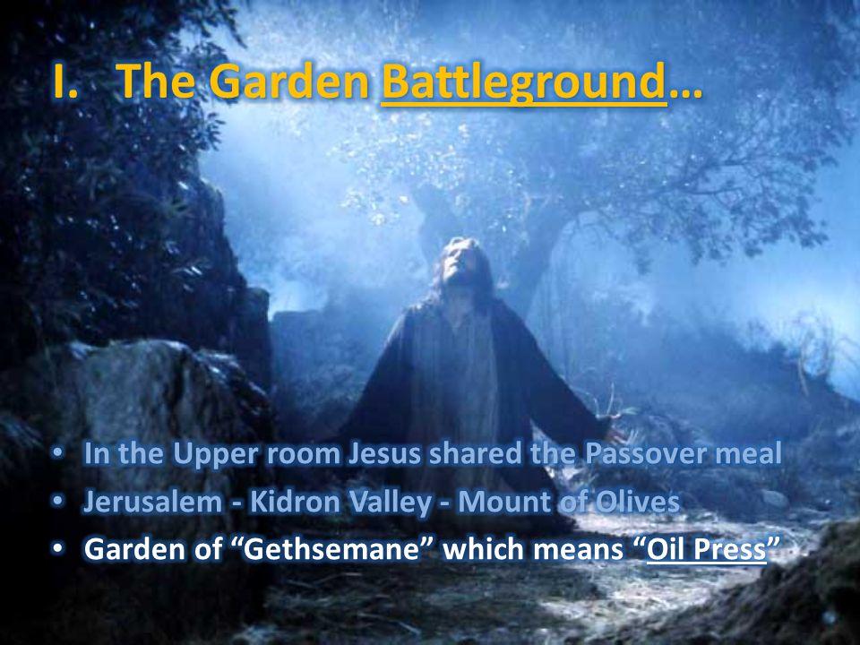 I. The Garden Battleground…