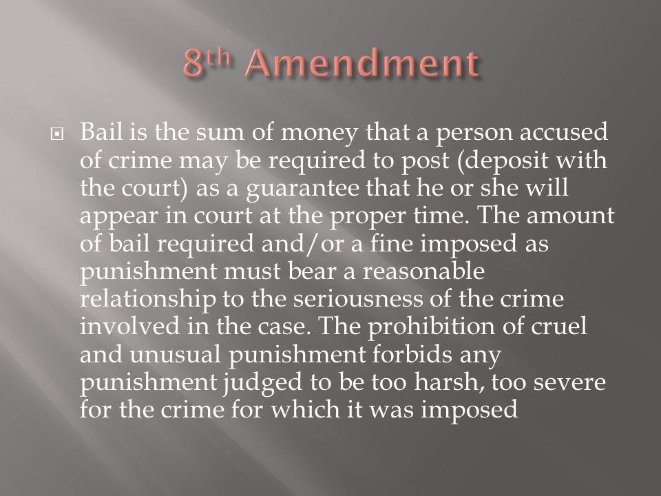 8th Amendment