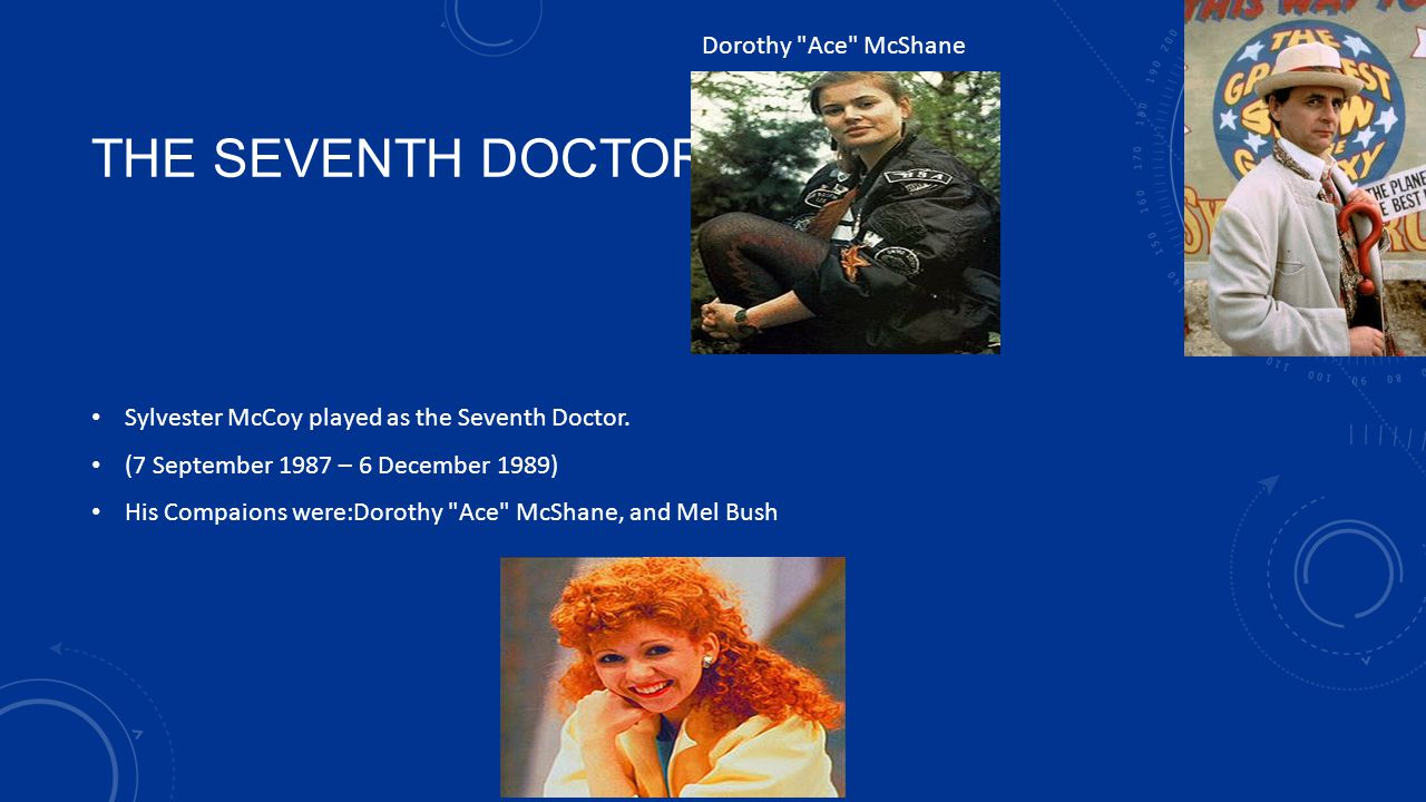 THE SEVENTH DOCTOR Dorothy Ace McShane