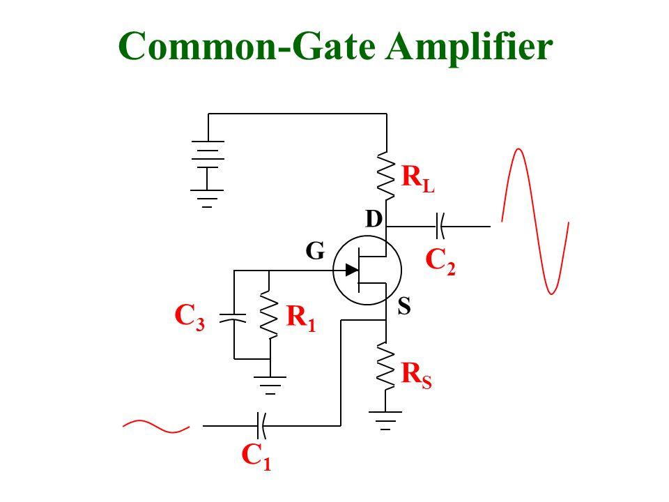 Common-Gate Amplifier