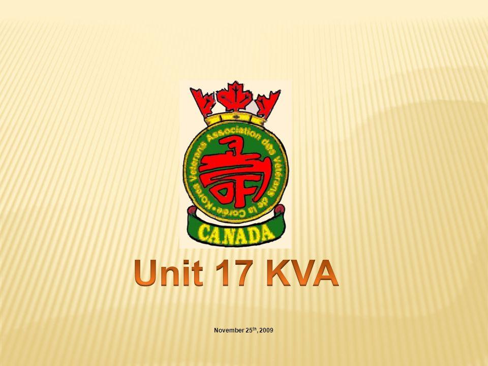 Unit 17 KVA November 25th, 2009