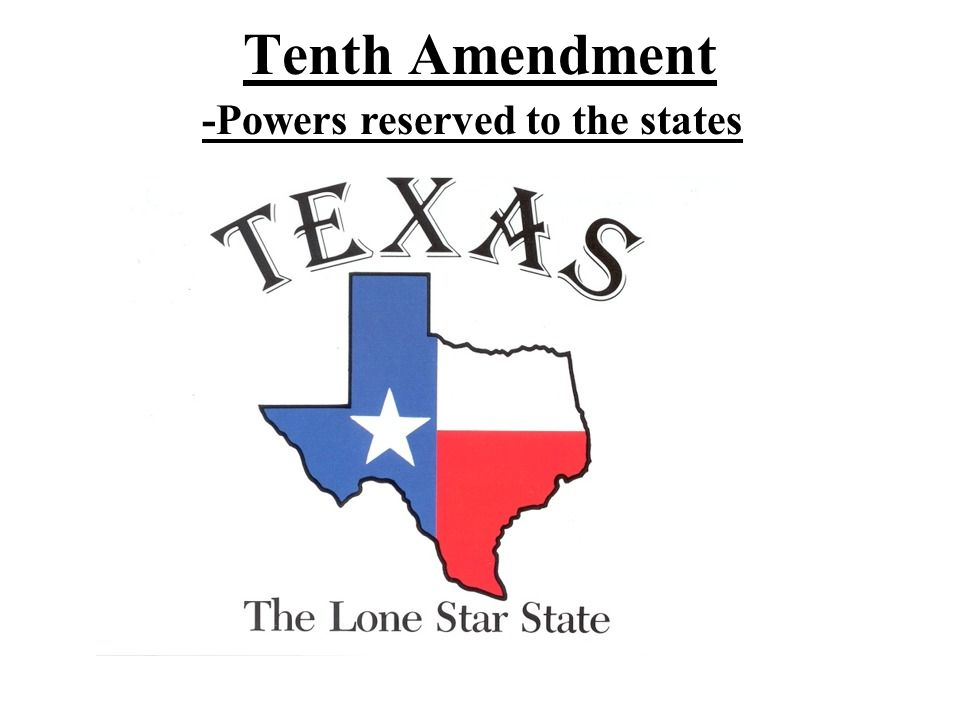-Powers reserved to the states